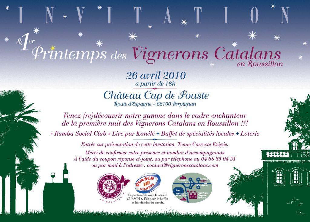 Invite Printemps VICARO verso2V